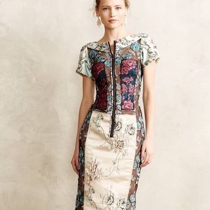 Byron Lars brocade dress